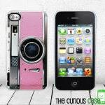 Retro Pink Camera iPhone Ha..