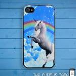 Unicorn Rainbow iPhone Case..